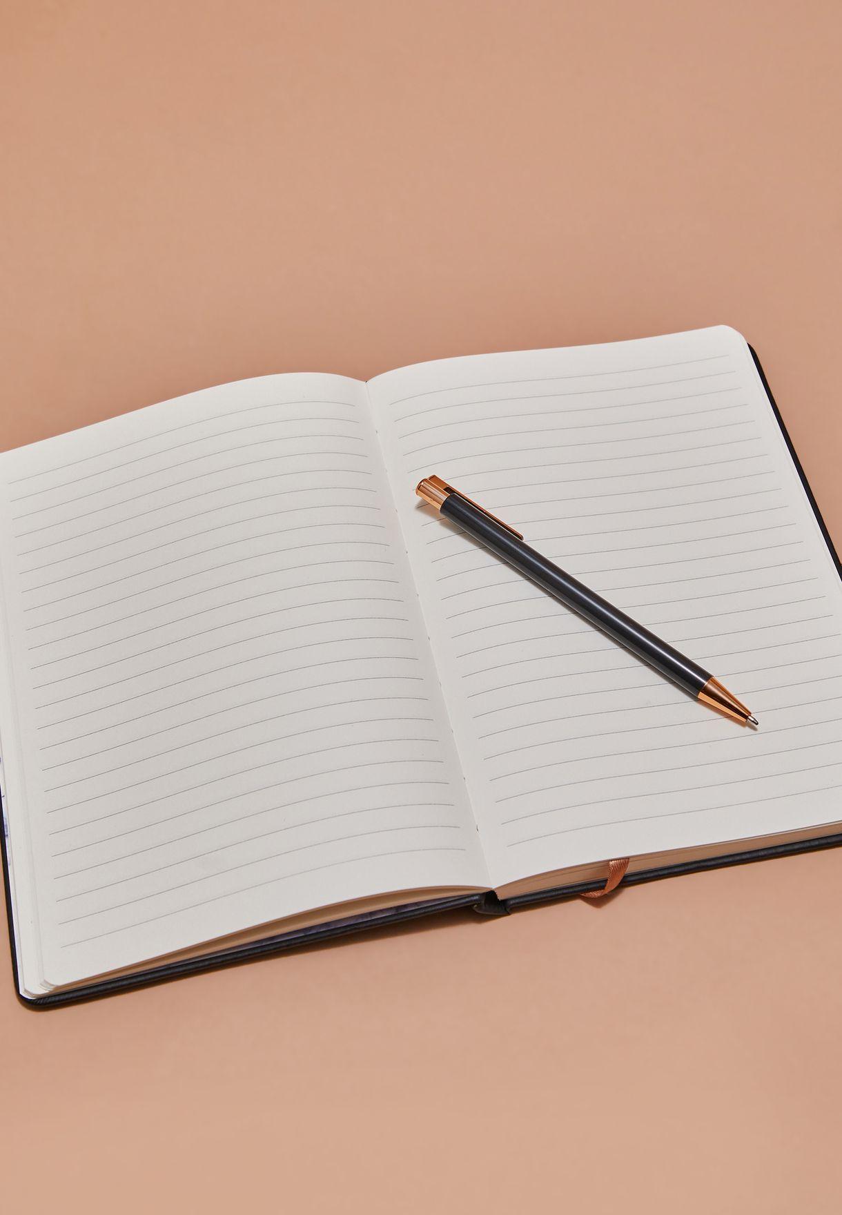 مجموعة دفتر ملاحظات برج الجدي مع قلم