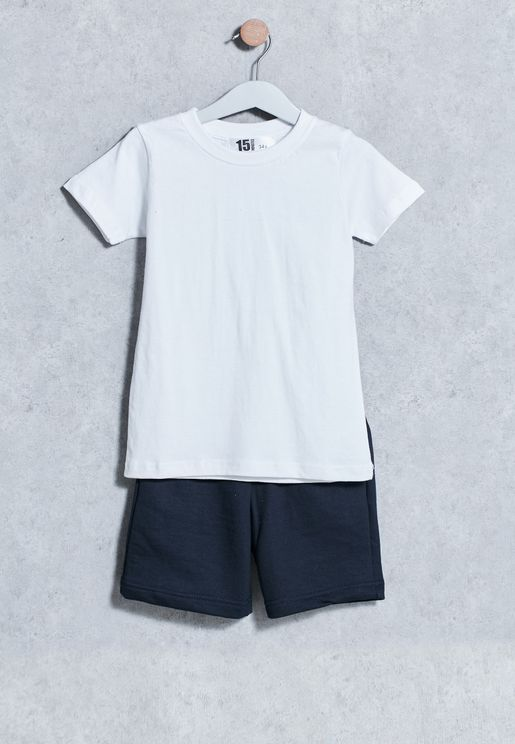 Kids T-Shirt + Shorts Set