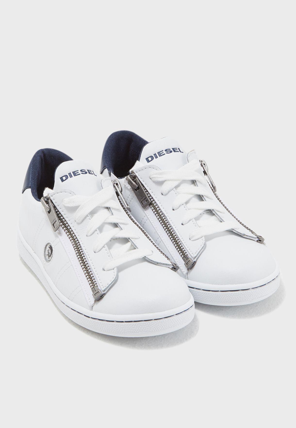 Youth Side Zip Sneaker