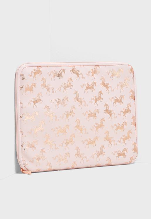 Unicorn Aop Laptop Case