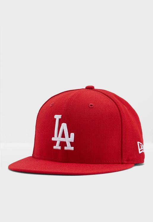 كاب بشعار فريق لوس انجلوس دودجرز