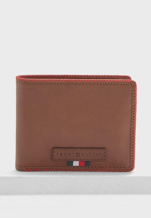 Edge Stitch Mini Wallet