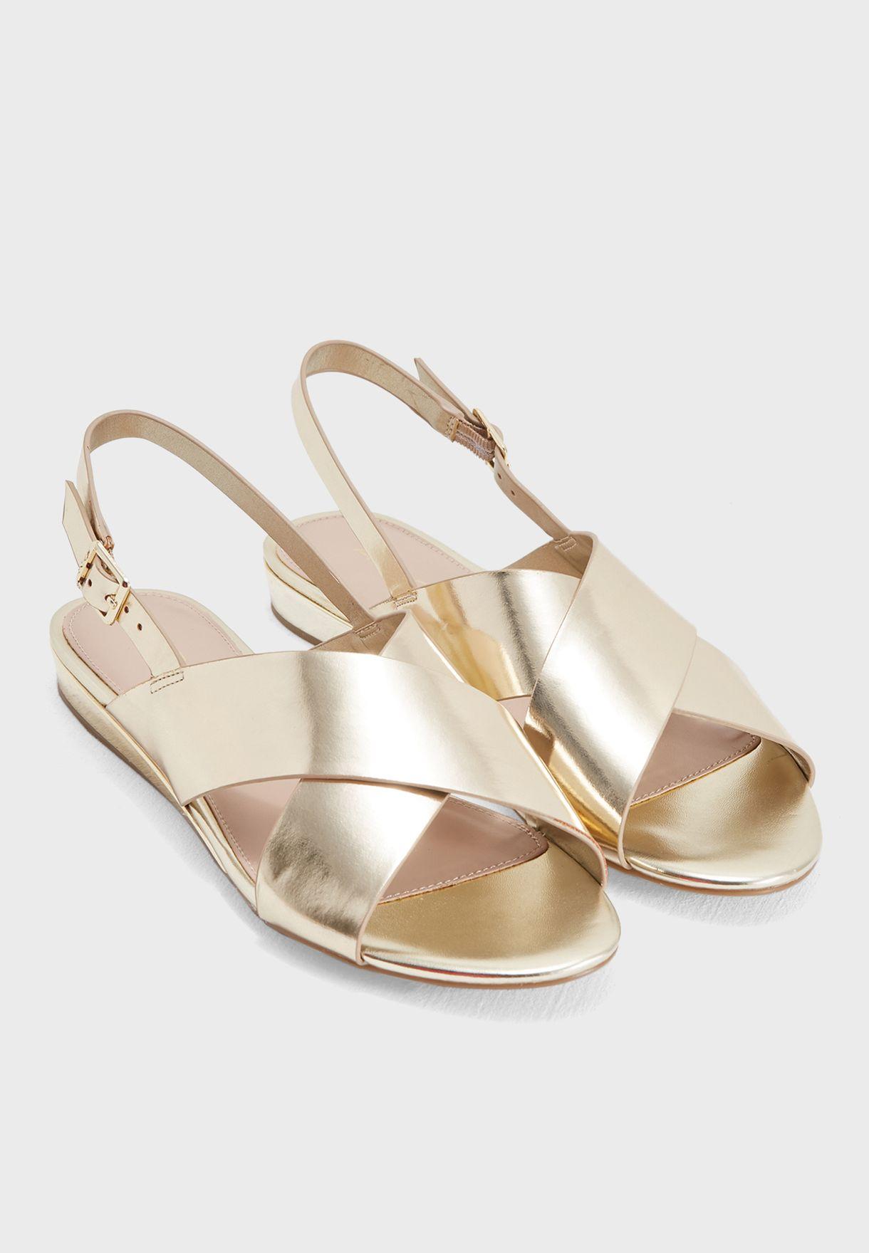 30cf8cf6360 Shop Aldo gold Nydidda Sandal NYDIDDA82 for Women in UAE - AL729SH37UWW