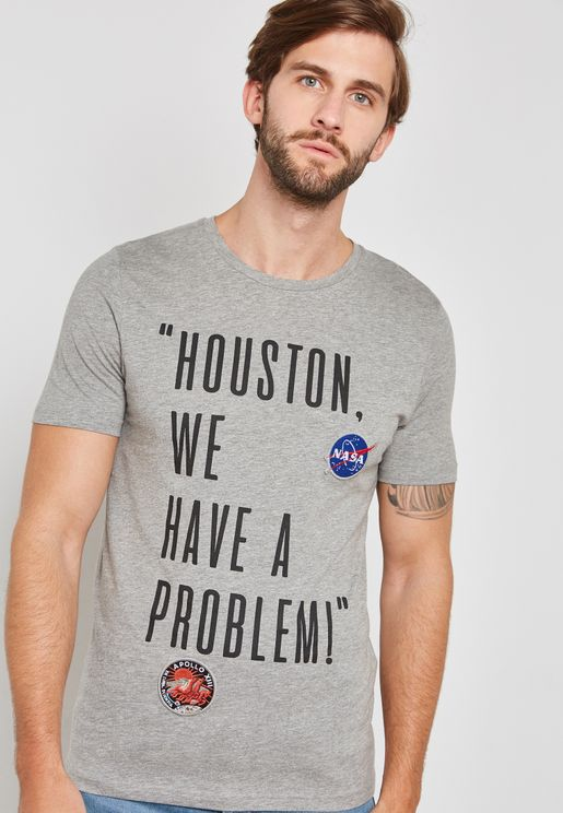 Nasa Crew Neck  T-Shirt