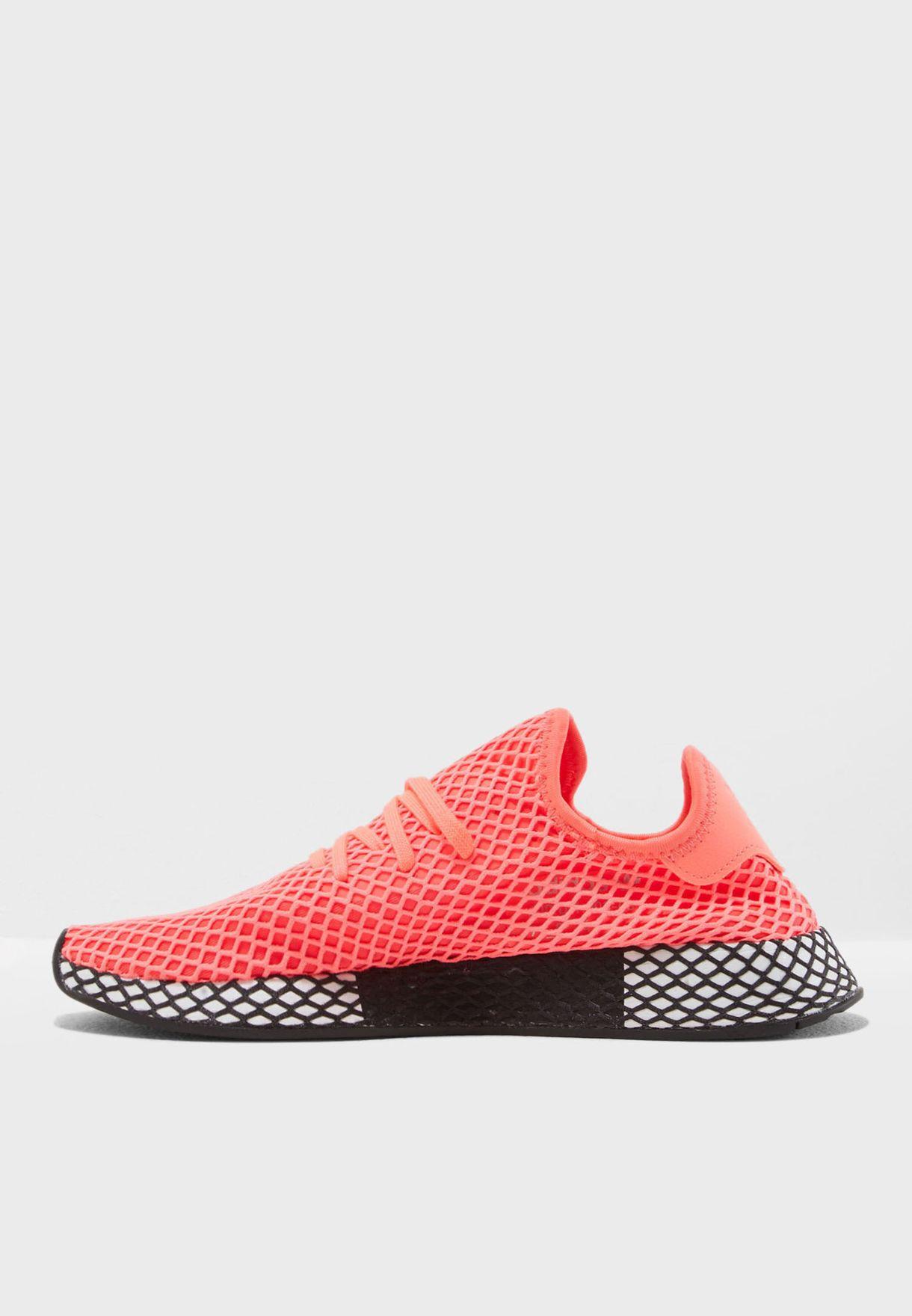 4065f3aa6cf5c3 Shop adidas Originals pink Deerupt Runner B41769 for Men in Saudi ...