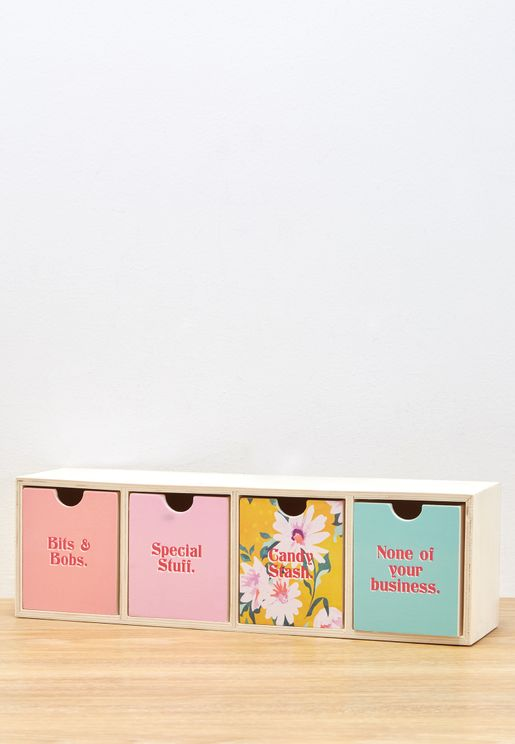 Mcgraw Floral Patchwork Quick Drawer