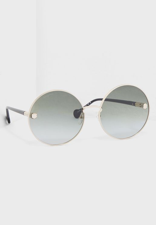 SF189S Round Sunglasses