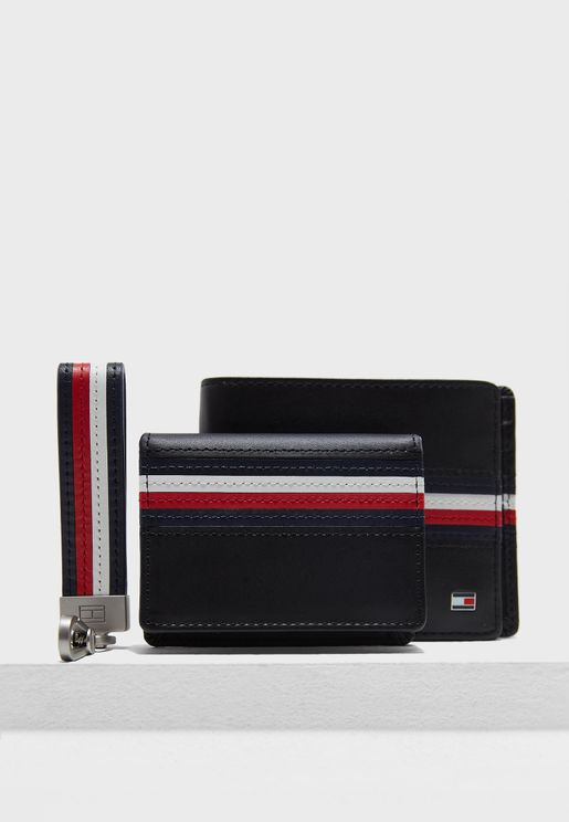 Casual Wallet With Keyfob
