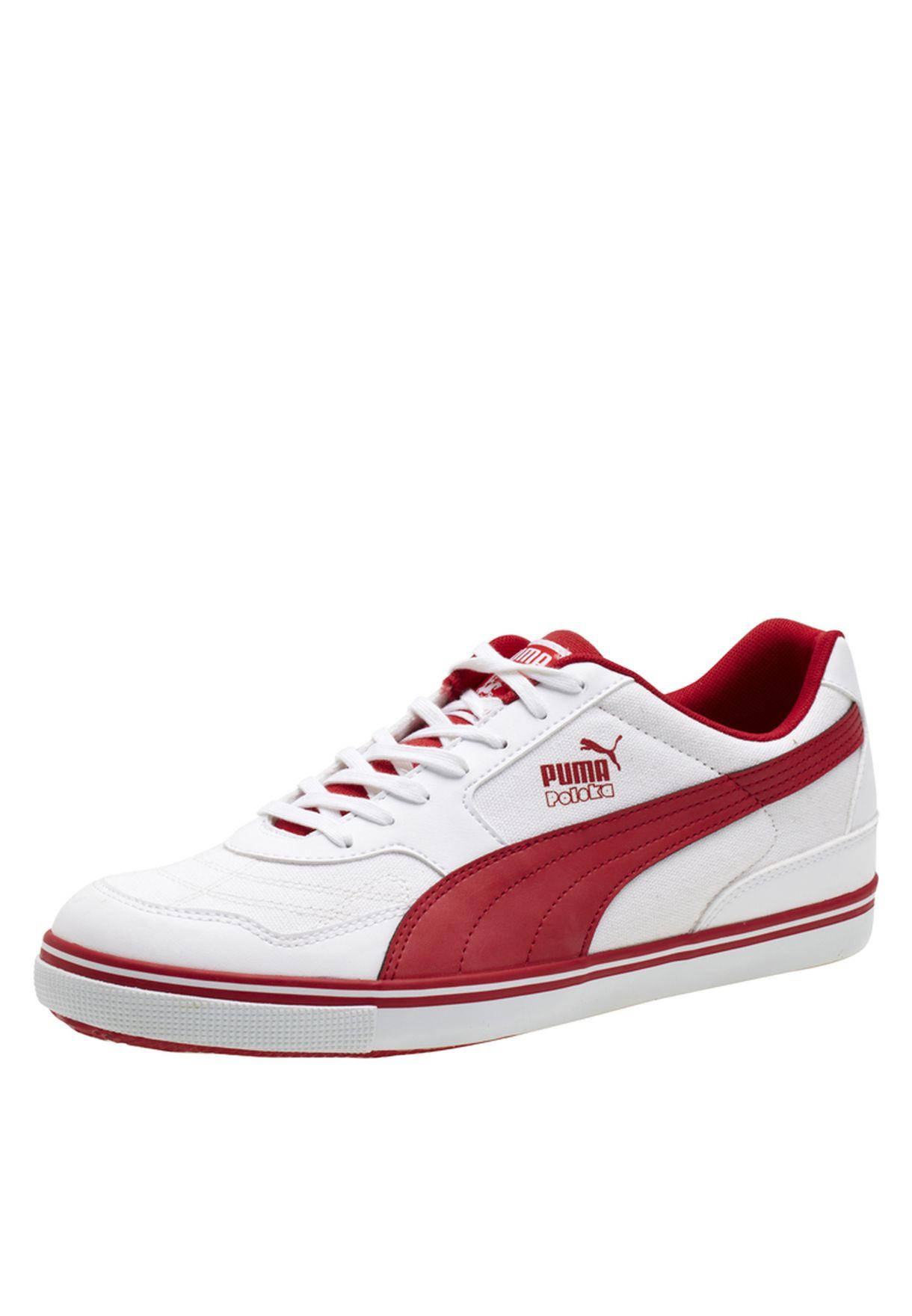 Buy PUMA white Paulista Country Sneakers for Men in MENA ...