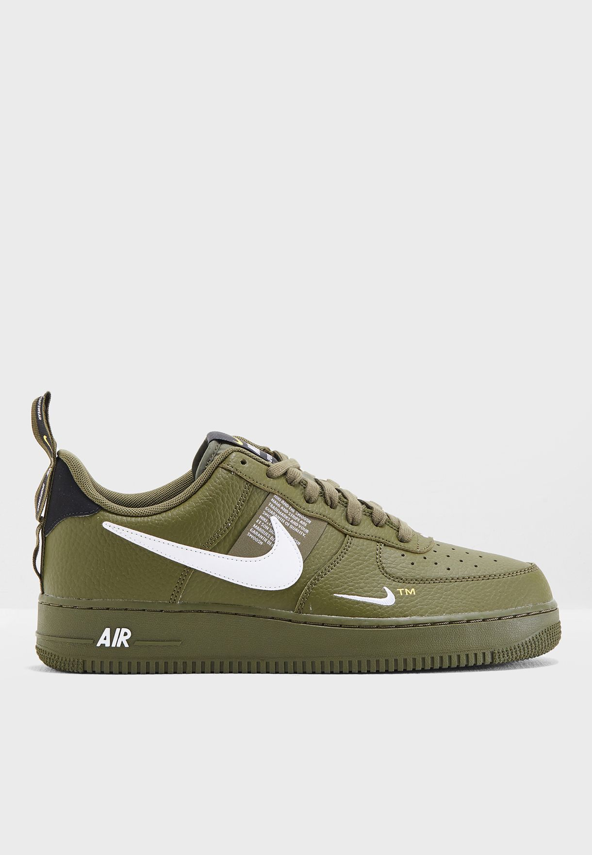 8ce7542f9c9 Shop Nike green Air Force 1   39 07 LV8 Utility AJ7747-300 for Men ...