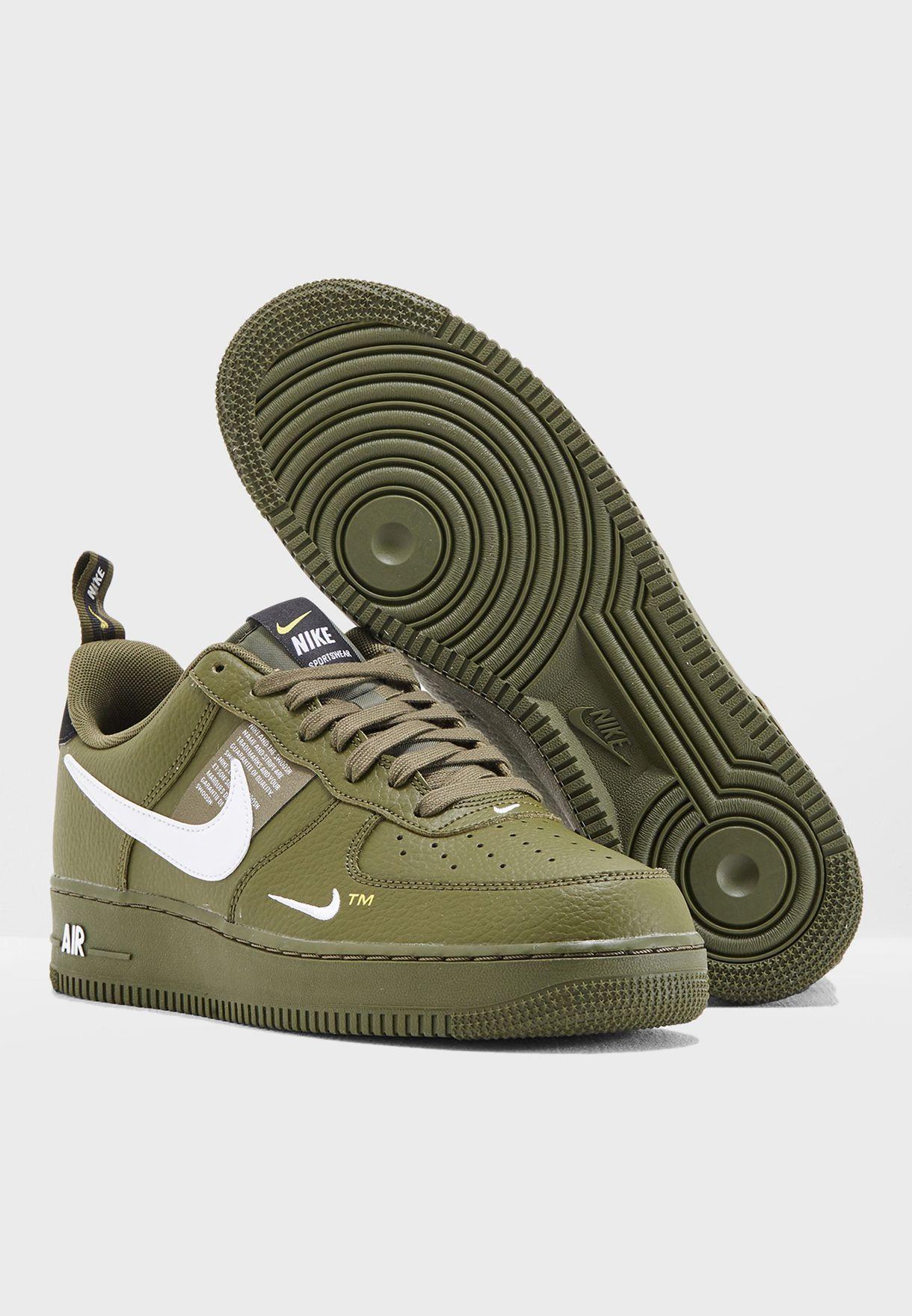trabajo duro a nombre de Inspiración  Buy Nike green Air Force 1 '07 LV8 Utility for Men in MENA, Worldwide |  AJ7747-300