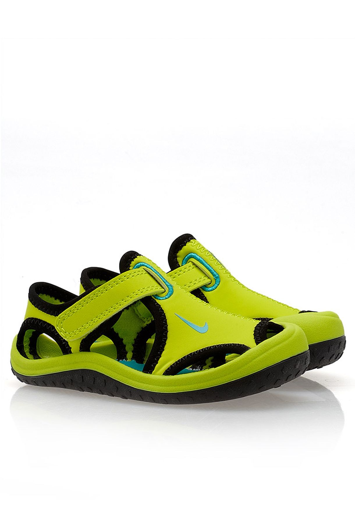 bbf51ee3402d Shop Nike green Sunray Protect Sandals 344925-300 for Kids in Qatar -  NI727SH37XLA