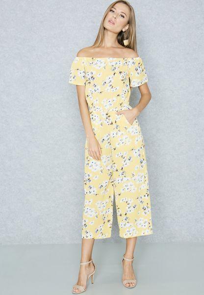 Bardot Culotte Jumpsuit