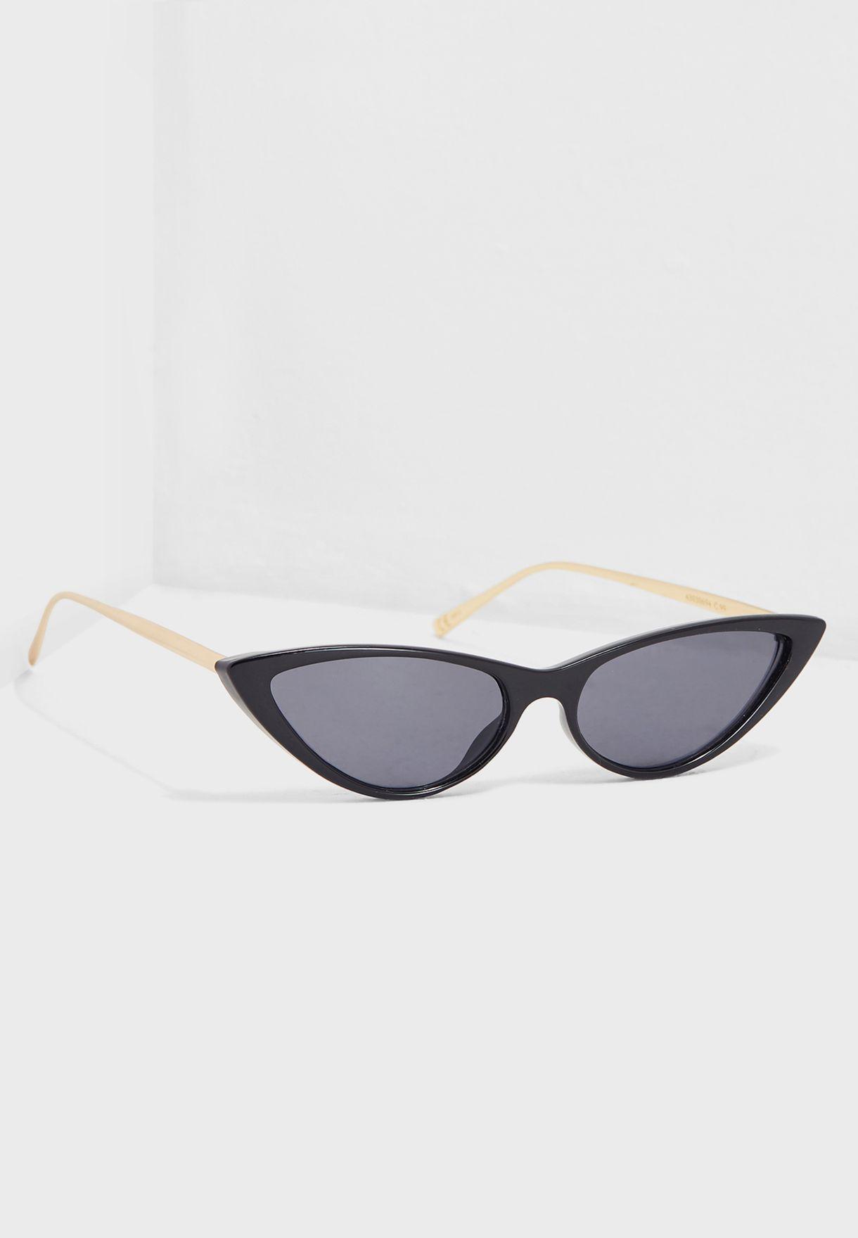 edc27a8e294 Shop Mango black Claire Sunglasses 43030694 for Women in Saudi -  MA887AC37EVM