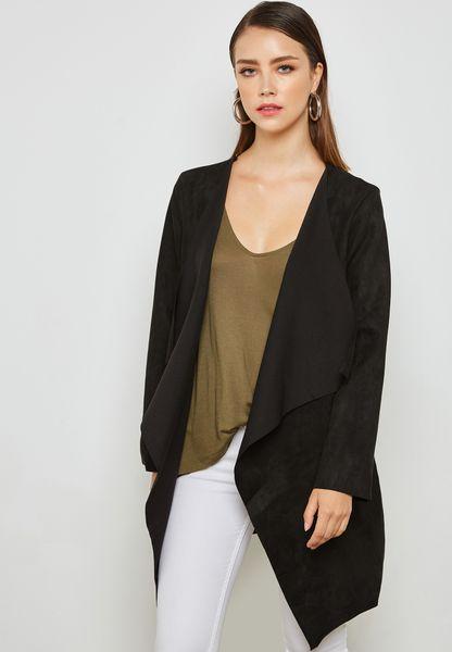 Sudette Self Tie Longline Jacket