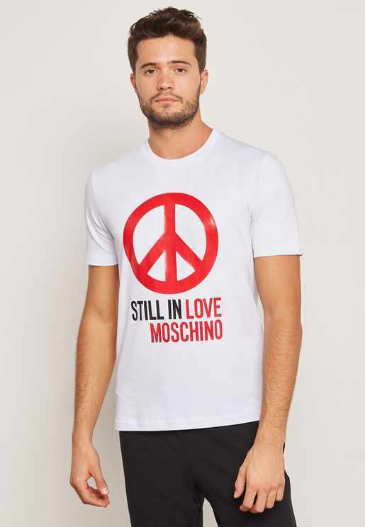 Still In Love Printed T-Shirt