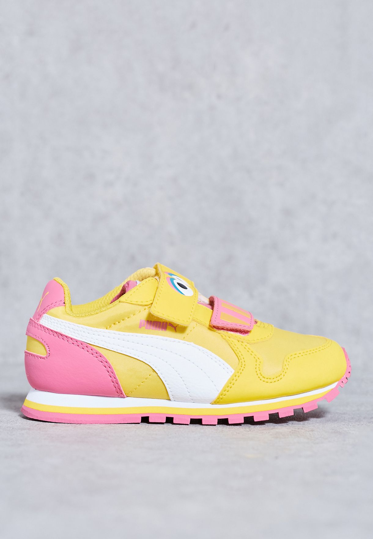 Shop PUMA yellow ST Runner Big Bird HOC Kids 36288801 for Kids in Qatar -  PU020SH37AGS 641316b40