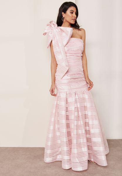 One Shoulder Detail Dress