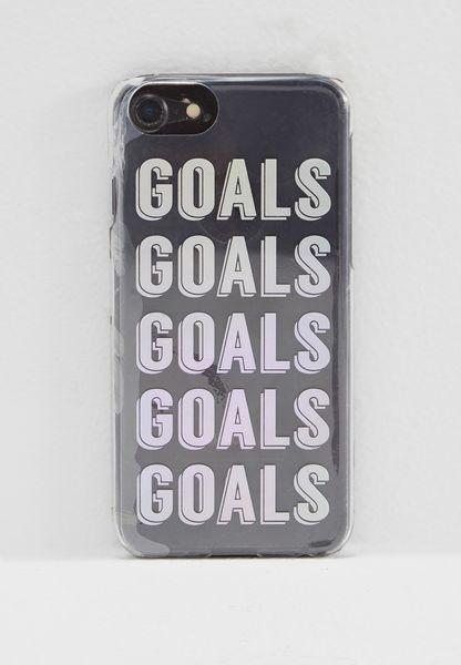 Goals iPhone 7 Case