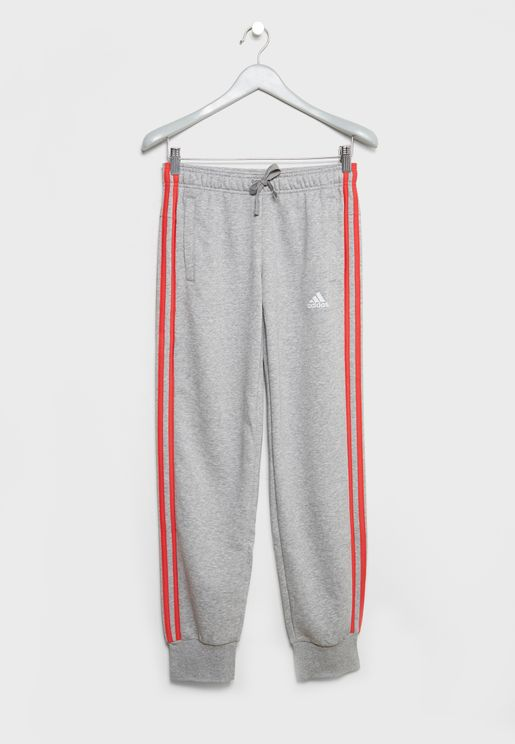 Youth 3 Striped Sweatpants