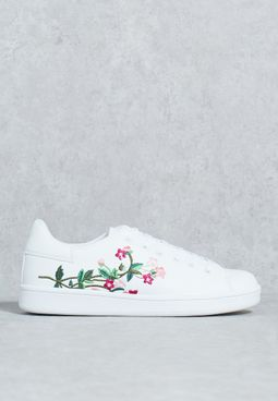 Embroidered Sneaker