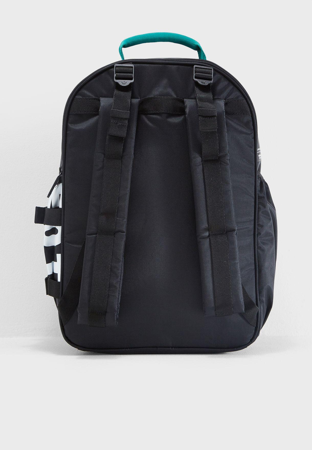 d89800a438 Shop adidas Originals black EQT Classic Backpack DH3027 for Men in ...