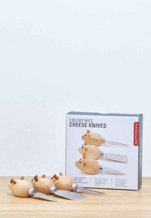 Mice Cheese Knives
