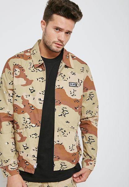 Driver Printed jacket