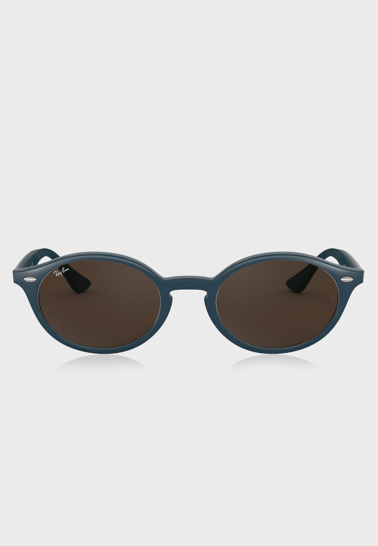83a898ec1e Shop Ray-Ban blue 0RB4315 Wayfarer Sunglasses 8.05367E+12 for Men in ...