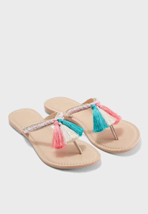 Tassel Faith Sandal