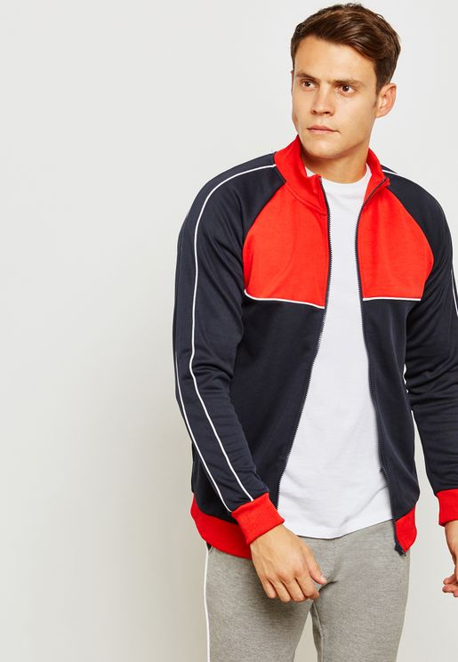 Blake Colourblock Track Jacket