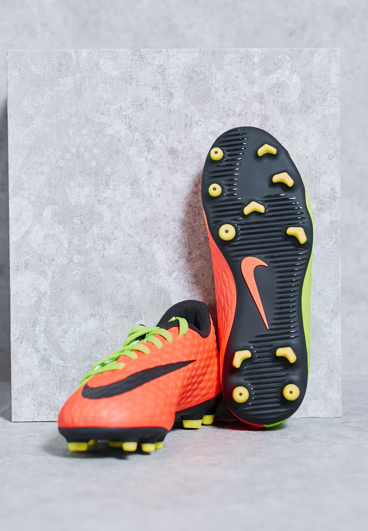 Hypervenom Phade Firm Ground III Kids
