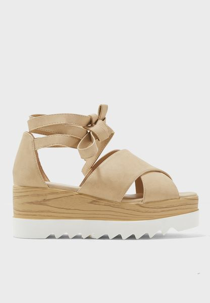 Arella Wedge Sandals