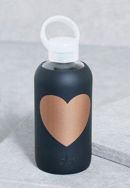 Copper Jet Heart  Water Bottle-500Ml