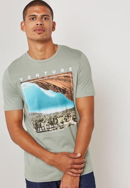 Carvan Printed T-Shirt