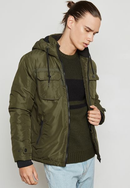 New Grand Hoodied Jacket
