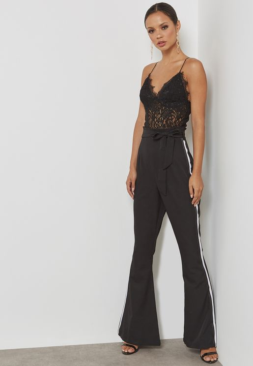 Paper Bag Waist Jumpsuit