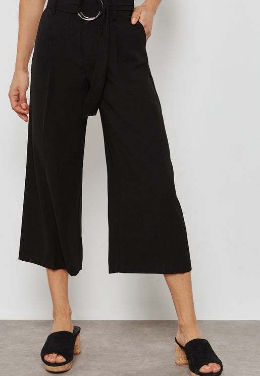 D-Ring Crop Pants