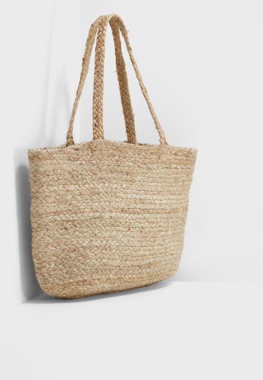 Darcy Straw Shopper