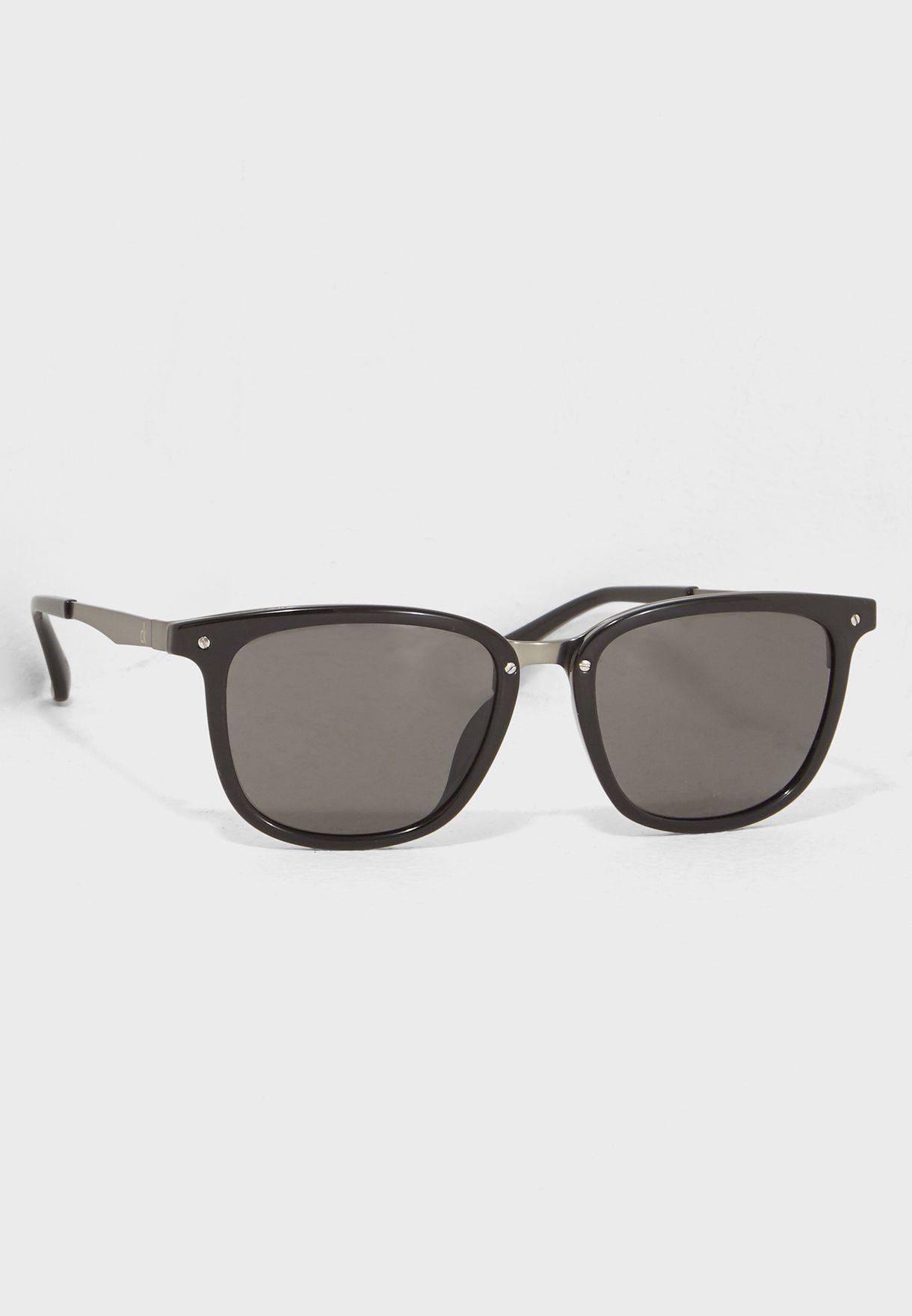 871386944107 Shop Calvin Klein black Wayfarer Sunglasses CK1213S-438 for Men in ...