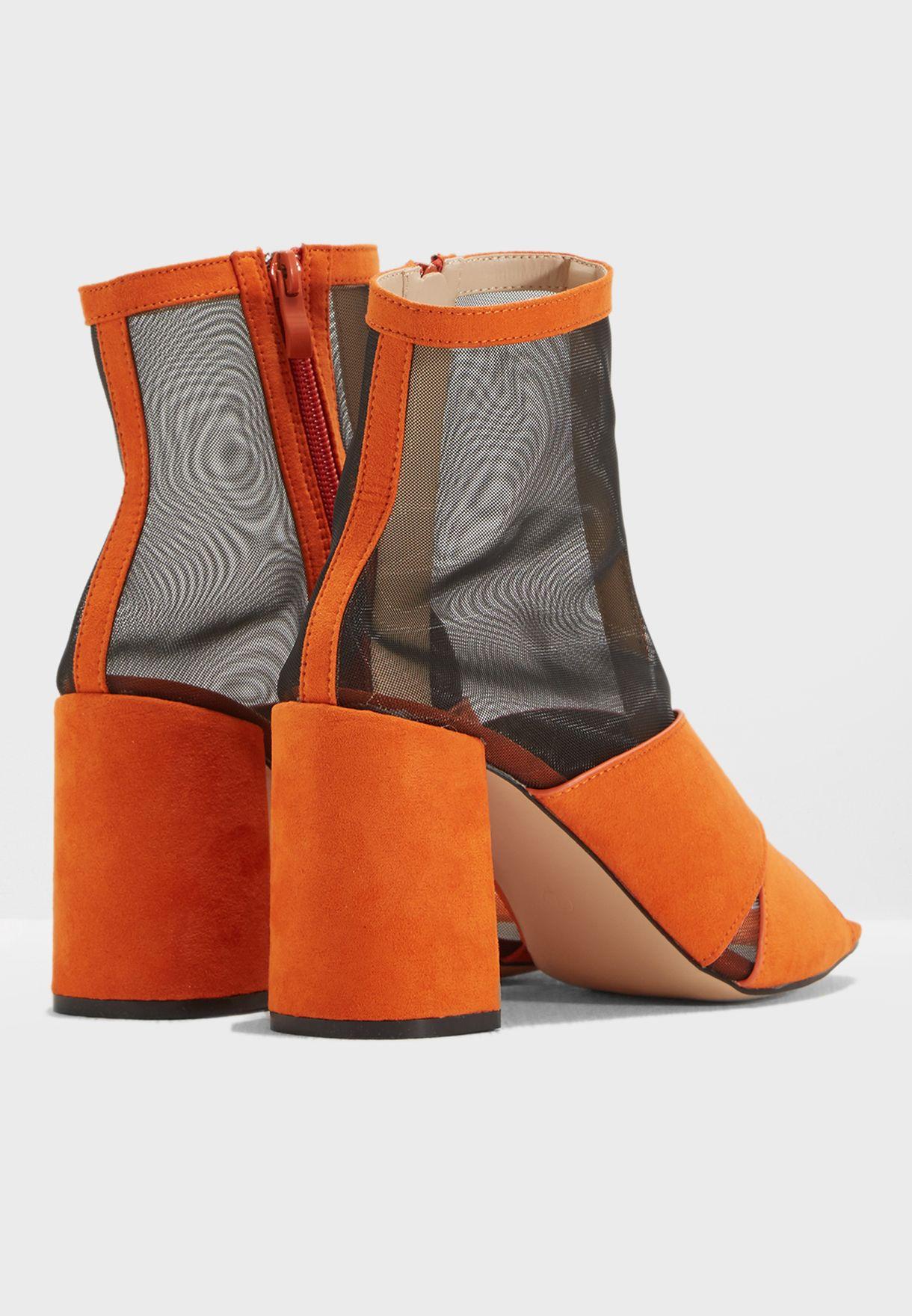 Uganda Mesh Sock Fit Ankle Boot