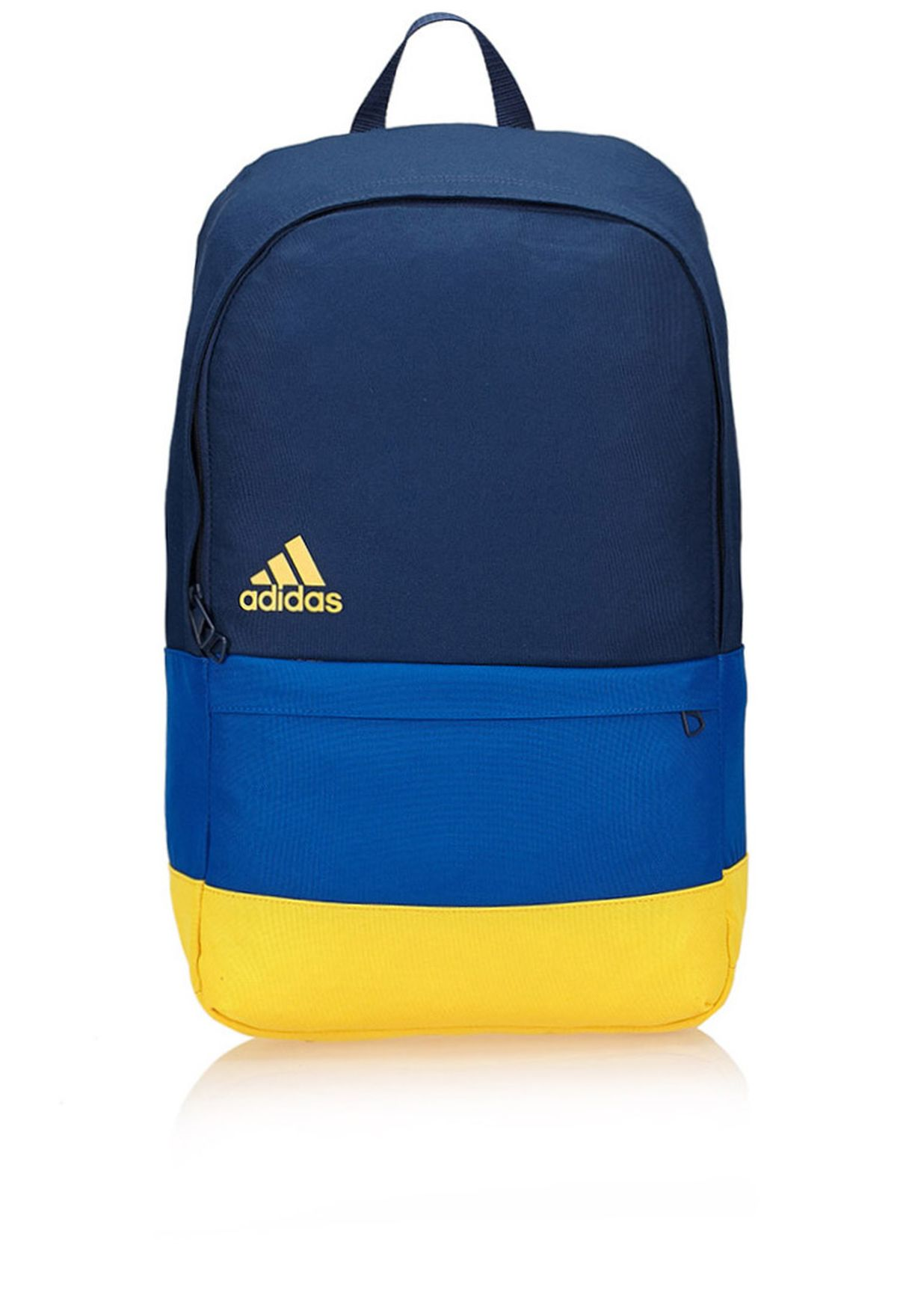 b48ed87d798a Shop adidas blue Versatile Block Backpack M66754 for Men in Oman -  AD476AC27RSI