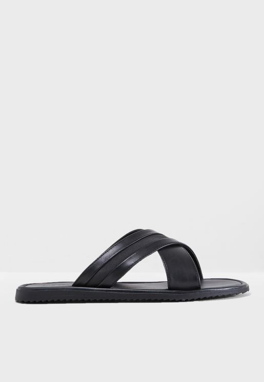 Olaossa Cross Strap Sandals