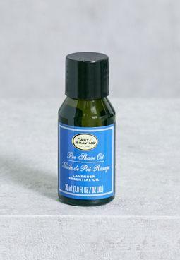 Pre Shave Oil - Lavender Essential Oil