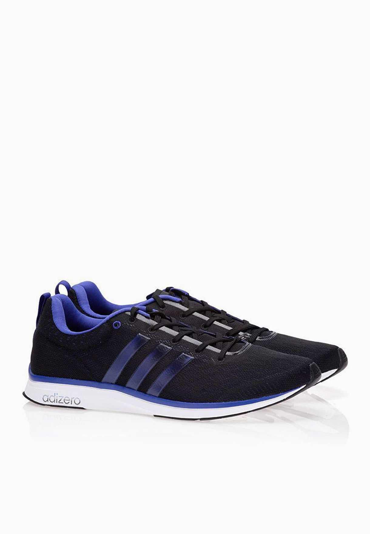 detailed pictures c9d1b d1ce9 Shop adidas black Adizero Feather 4 M B40775 for Men in Bahrain -  AD476SH27PJS