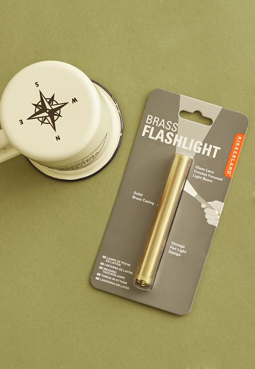 Brass Flashlight