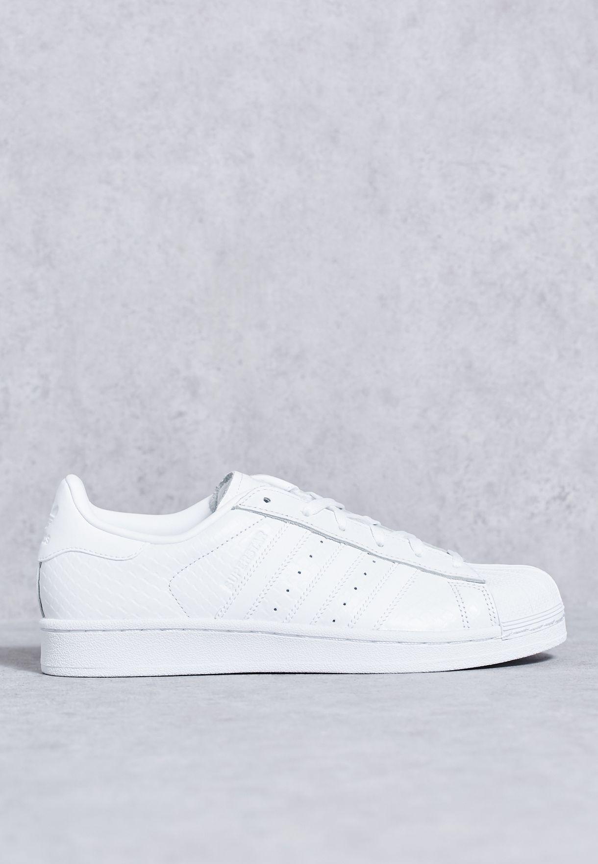 a53c169bd تسوق حذاء سوبر ستار ماركة اديداس اورجينال لون أبيض في السعودية ...
