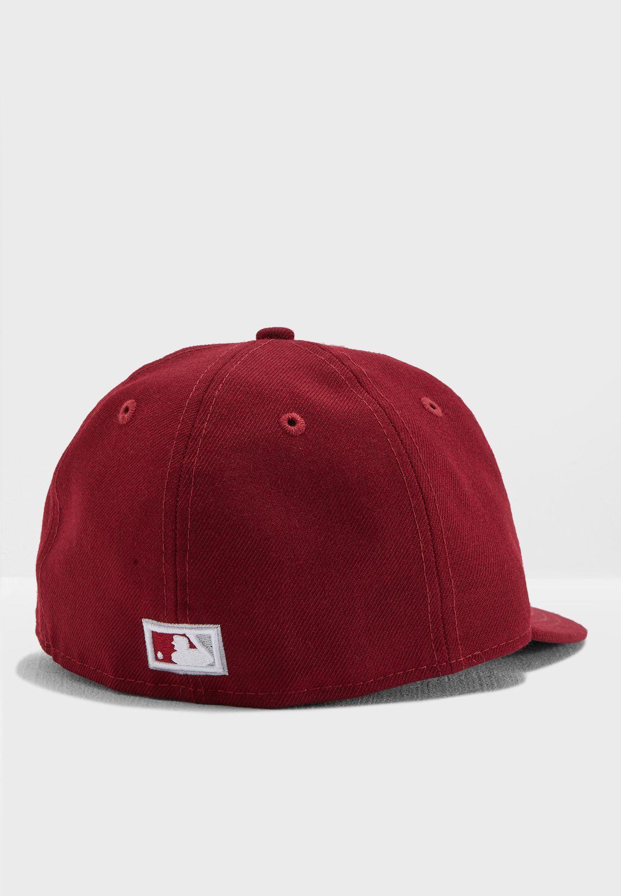 Shop New Era red 59Fifty Philadelphia Phillies Snapback 11757612 for ... fb2d3d86bda