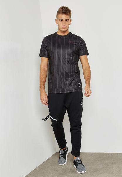 Puma. Record Stripes T-Shirt