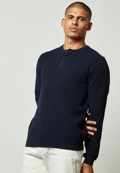 3 Button Sweater